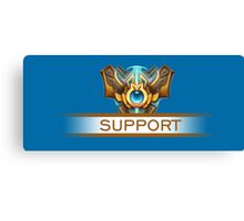 Support Badge Canvas Print