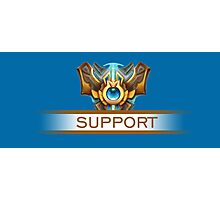 Support Badge Photographic Print