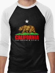 California Men's Baseball ¾ T-Shirt
