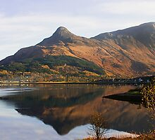 Reflections of the Pap of Glencoe by jacqi