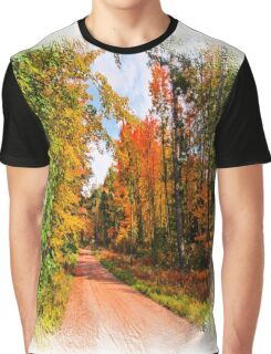 Fall in Wisconsin Graphic T-Shirt