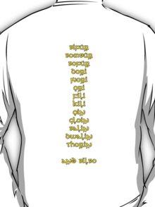 Thirteen Dwarves and a Hobbit T-Shirt