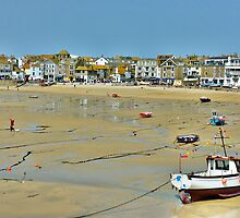 St Ives-Cornwall by Lilian Marshall