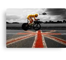 Bradley Wiggins, Tour de France Champion 2012 Canvas Print
