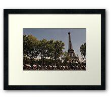 Paris, Tour de France Framed Print