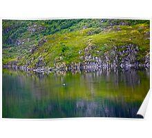 7 ★★★★★. My features Art that I LOVE!! Meravilioso Belvedere .  Å . Lofoten .Norway. july 2012. by Andy Brown Sugar. Featured Work !!! Islands , Islands , Islands . Poster
