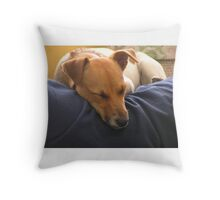Jack Russel  Throw Pillow