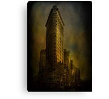 Flat Iron Building from My Perspective Canvas Print
