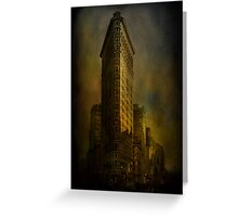 Flat Iron Building from My Perspective Greeting Card