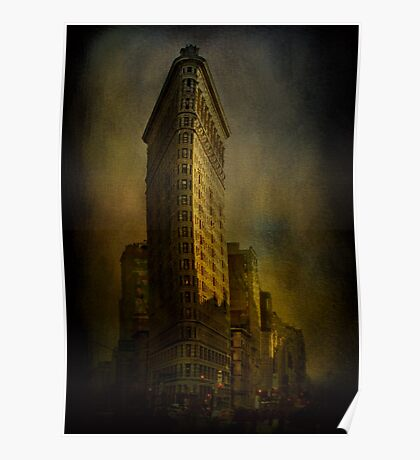 Flat Iron Building from My Perspective Poster
