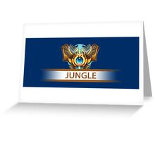 Jungle Badge Greeting Card