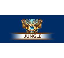 Jungle Badge Photographic Print
