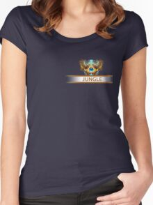 Jungle Badge Women's Fitted Scoop T-Shirt