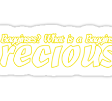 What is a Bagginses? Sticker