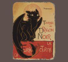 Le Dragon Noir Baby Tee