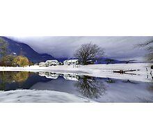 Percy Farm in Winter Photographic Print