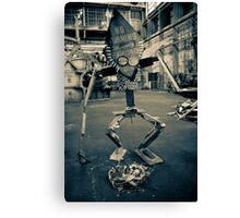 Garbage Monster Canvas Print