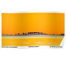 OBX Sunset. Poster