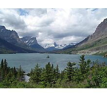 WILD GOOSE ISLAND - SWIFT CURRENT LAKE  Photographic Print
