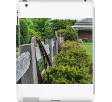 Rural fence  iPad Case/Skin