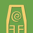 Earth Kingdom Symbol by Alexandra Grant