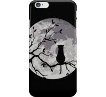 The Cat And The Moon iPhone Case/Skin