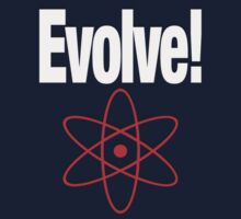 EVOLVE! by peter chebatte