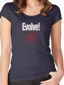 EVOLVE! Women's Fitted Scoop T-Shirt