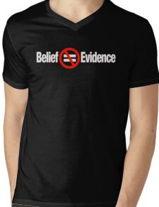 BELIEF Mens V-Neck T-Shirt