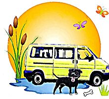 T4 a Dog and a Dub by Sharon Poulton