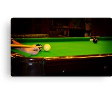 Tough Shot Canvas Print
