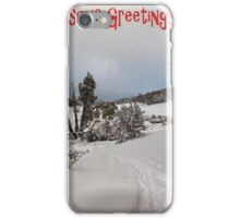 White Christmas ....... Cradle Mountain Tasmania iPhone Case/Skin