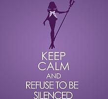 Keep Calm - Sailor Saturn Iphone 1 by SimplySM