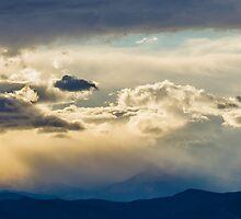 Rocky Mountain Stormy Sunset by Jon Rista