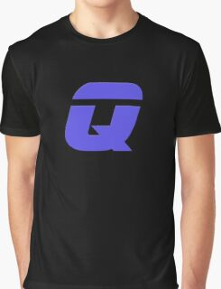 The Letter Q - T-Shirt Sticker Graphic T-Shirt