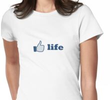 like life Womens Fitted T-Shirt