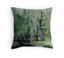 Zen Park 1 Throw Pillow