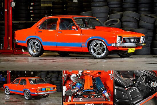 Darren Hawkins' 1JZ-powered Holden Torana - Poster by HoskingInd
