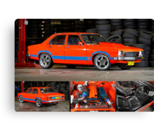 Darren Hawkins' 1JZ-powered Holden Torana - Poster Canvas Print