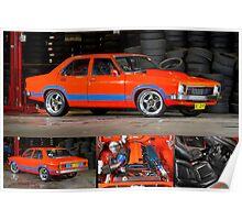 Darren Hawkins' 1JZ-powered Holden Torana - Poster Poster