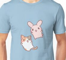 kitten and bunny  Unisex T-Shirt