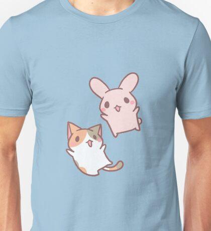 kitten and bunny  Unisex T-Shirt