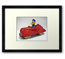 The Red Roadster Framed Print