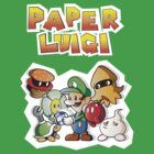 Paper Luigi Colored by RavishingRyan