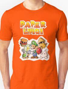 Paper Luigi Colored T-Shirt