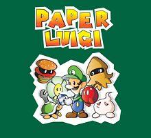 Paper Luigi Colored Unisex T-Shirt