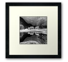 Winter's Edge Framed Print