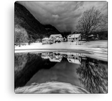 Winter's Edge Canvas Print
