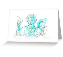Bethesda ~Angel of the Waters Greeting Card