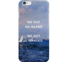 Long Way Down Lyrics x Claude Monet iPhone Case/Skin